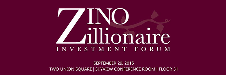 Zino Zillionaire Investment forum event banner