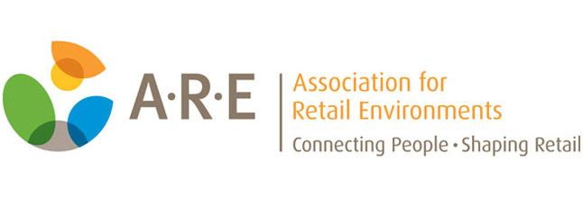A.R.E. Association for Retail Environments logo