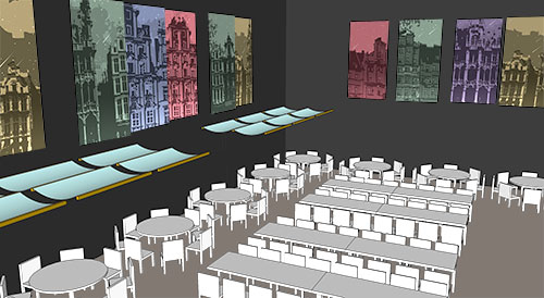 Caravale 2013 rendering of layout and original artwork