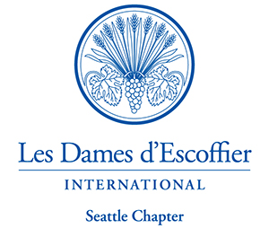 Les Dames d'Escoffier International Seattle Logo