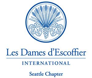 Les Dames d'Escoffier International Seattle Logo