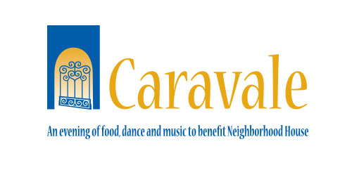 Caravale Fundraising Event logo design horizontal
