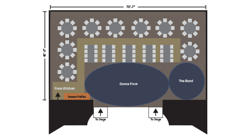 Caravale 2013 event floorplan for Moore Theater stage