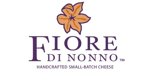 Fiore di Nonno logo design vertical