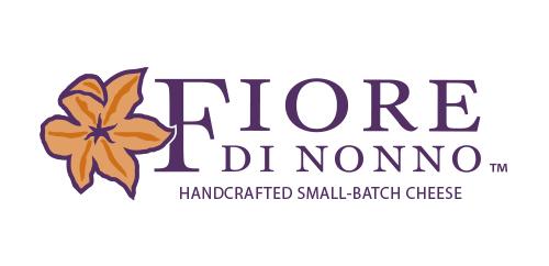 Fiore di Nonno graphic identity design horizontal