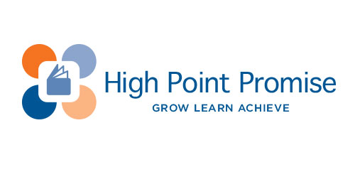 High Point Promise education initiative logo design horizontal