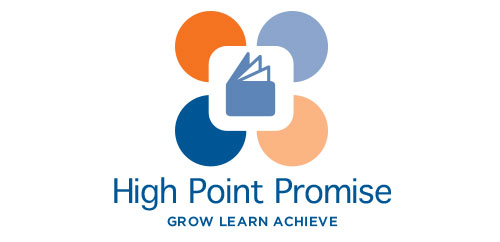High Point Promise education initiative logo design vertical