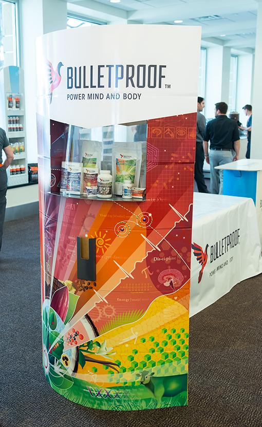 Bulletproof Lama Displays by Trumari product showcase