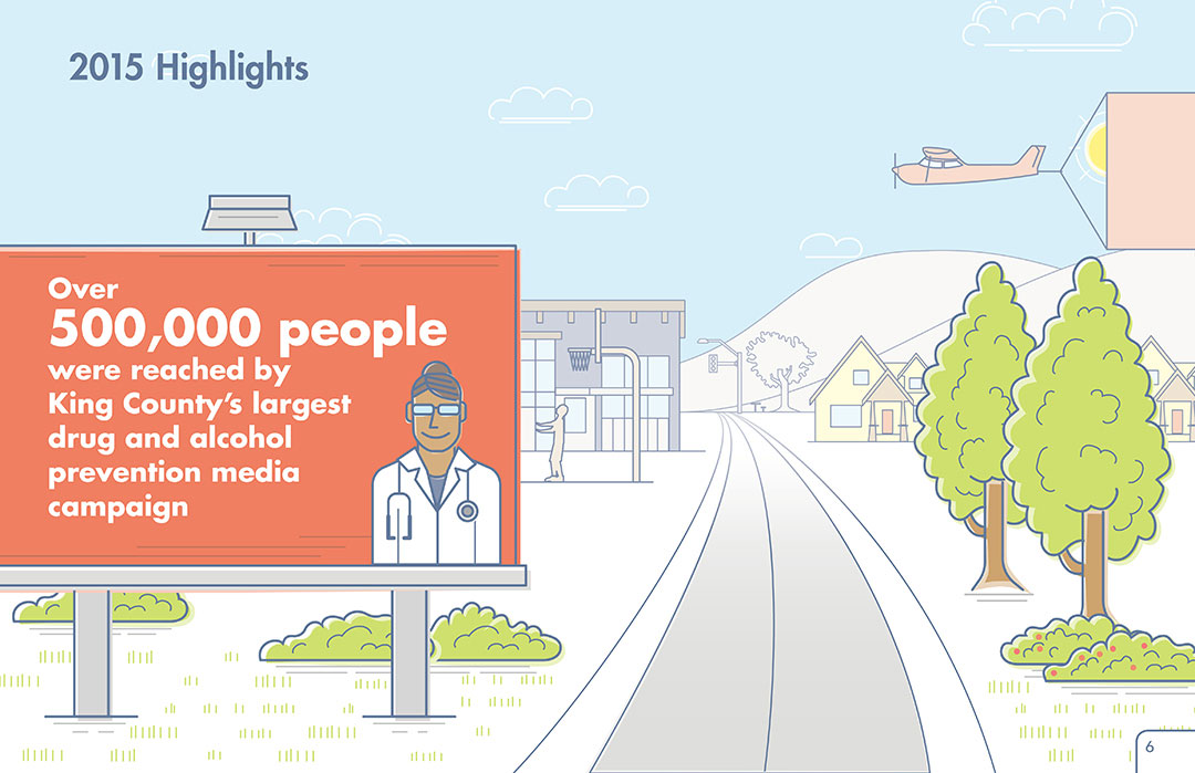 Neighborhood House 2015 Annual Report, highlights, drug and alcohol prevention