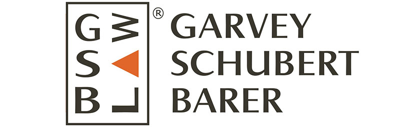 Garvey Schubert Barer law firm logo design, original